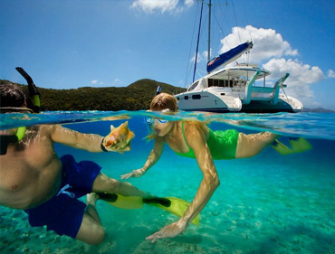 Private Bahamas yacht rentals, Snorkeling tours